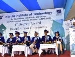 Narula Institute of Technology, flagship college of JIS Group, holds it first convocation, 840 students receive their degrees