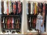 Fashion designers Shivan & Naresh showcase their luxury holidaywear at Dapper