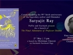 Dhritiman Chaterji to e-launch The Final Adventures of Professor Shonku on Satyajit Ray's 99th birth anniversary