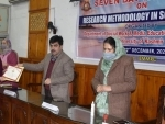 J&K: Week-long workshop on research methodology concludes at KU
