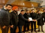 CT University delegation interacts with Srinagar students