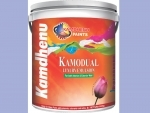 Kamdhenu Paints launches Kamodual Luxury, can be used for both interior and exterior walls