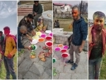 Holi celebrated in Kashmir's Srinagar with Hindus, Muslims, Sikhs smearing each other with colours
