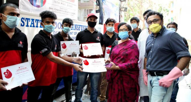 Chowman hosts blood donation drive in fight against Covid-19