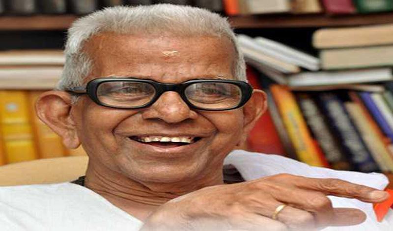 Renowned poet Akkitham Achuthan Namboothiri dies