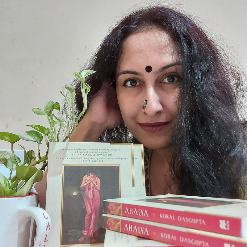 I don't believe in feminism but femininity: Author Koral Dasgupta