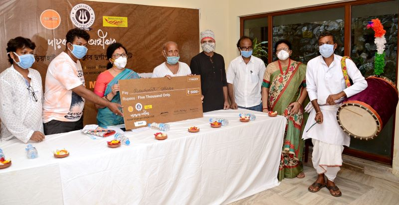 Durga Puja: Gariahat Hindustan Club supports artists amid economic crisis
