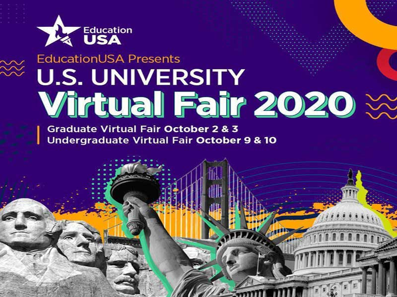 EducationUSA presents U.S. University Virtual Fair, 2020