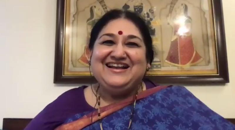 Shubha Mudgal at the event