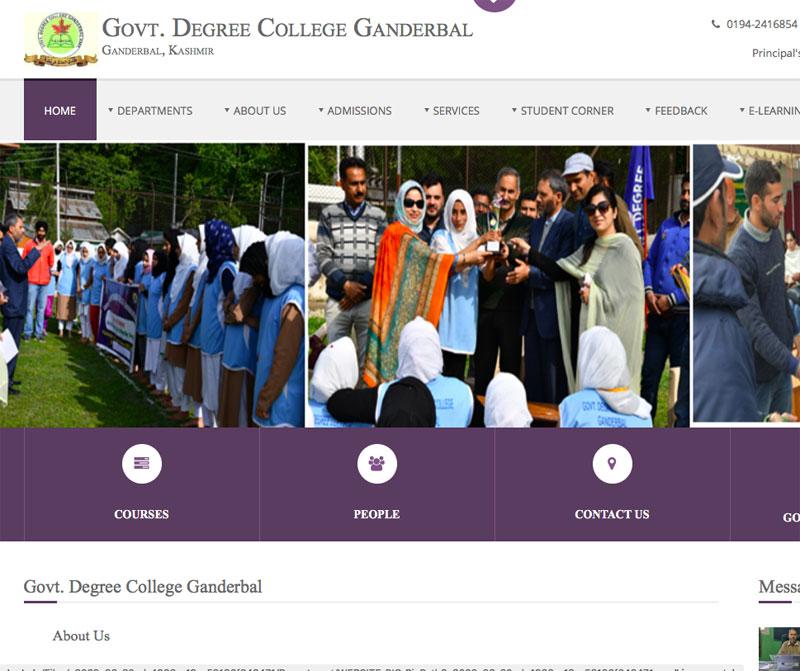 J&K govt massively upgrades Ganderbal's Govt Degree College, students praise move