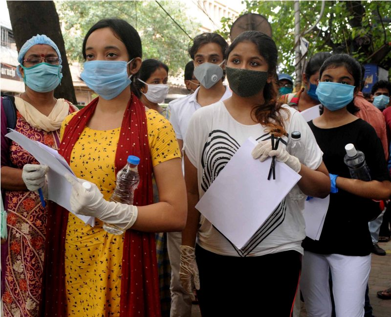 Around 90 pc turnout for NEET exams: Ramesh Pokhriyal
