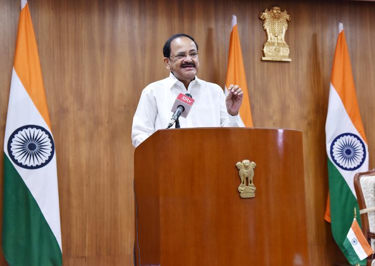 Vice-President M Venkaiah Naidu calls for bridging digital divide to ensure equitable education