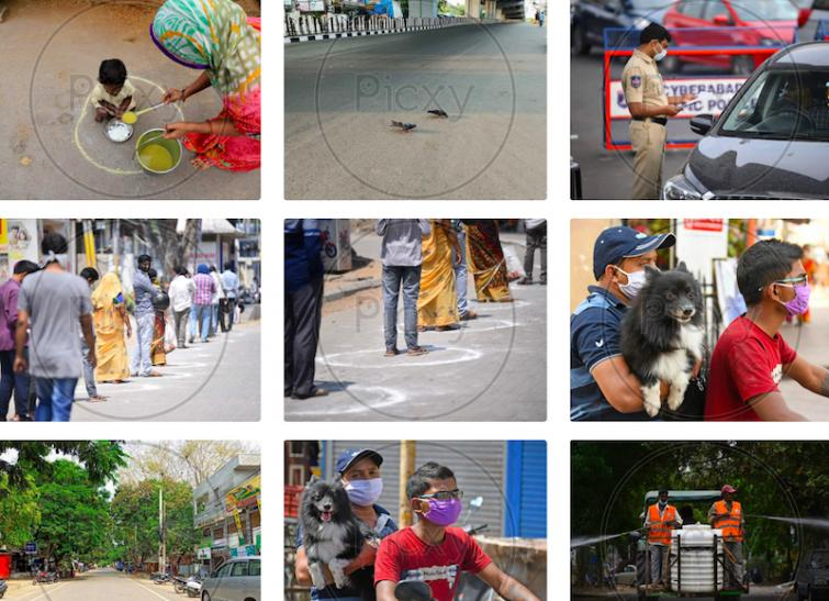 The Pandemic in Pictures: Picxy gives you the Indian images