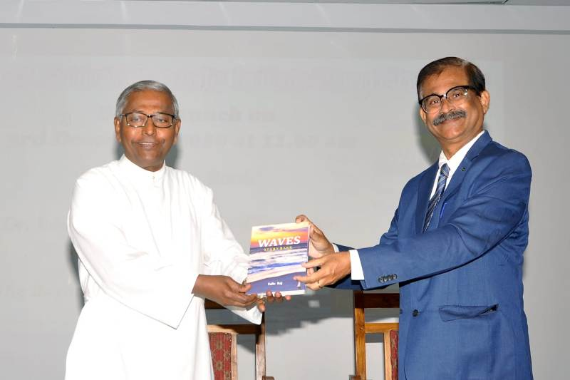 Stories are the index of our mind, says Father Felix Raj at book launch