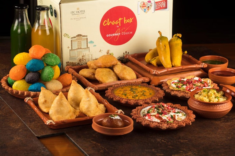 Don't miss the chance to dig into ITC Royal Bengal's Gourmet Couch Chat Box