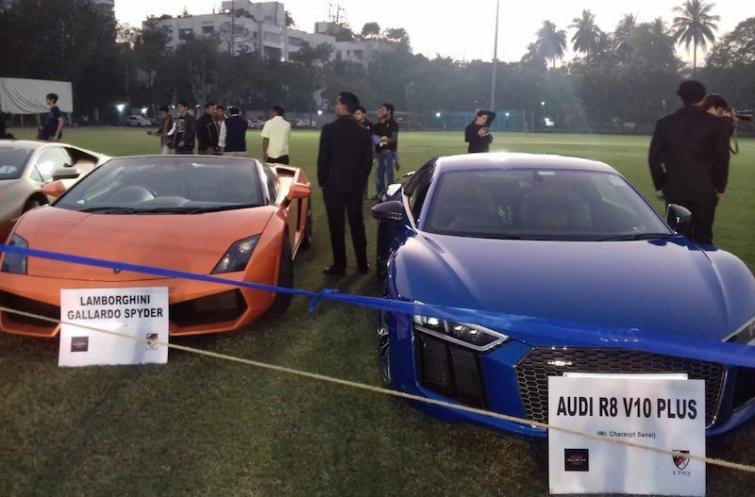 CC&FC organises Super Car Mania 2020 in Kolkata