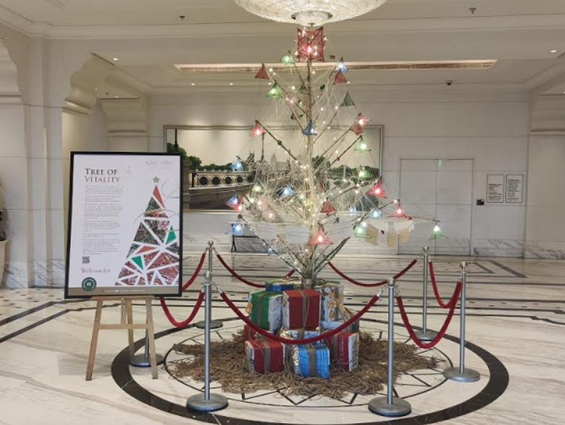 ITC Royal Bengal & ITC Sonar celebrate Yuletide with Vocal for Local Christmas Trees