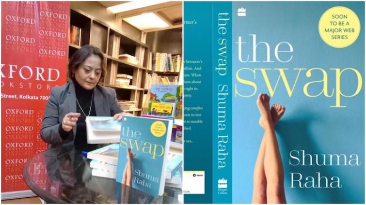 Journalist Shuma Raha's debut novel on couple swapping is out, to be adapted for erotic web thriller