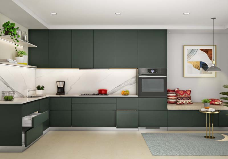 Hafele offers solutions for handle-less kitchen design