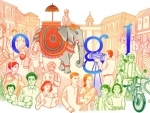 Google doodles to celebrate India's Republic Day