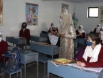 Jammu and Kashmir schools resume after a year for classes 9th to 12th