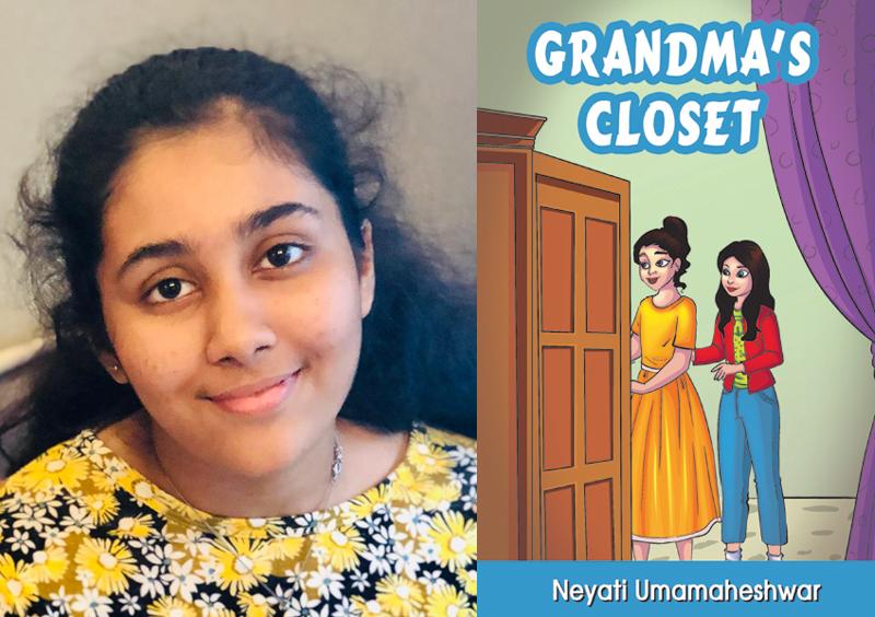 Author interview: Young Neyati Umamaheswar pens her first book 'Grandmother's Closet'