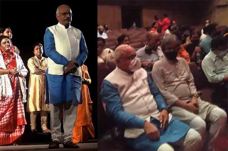 Pronam senior citizens attend `Ek Mancha Ek Jiban' theatre show in Kolkata