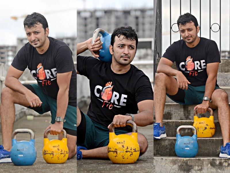 A festival, a wedding and that kettlebell look