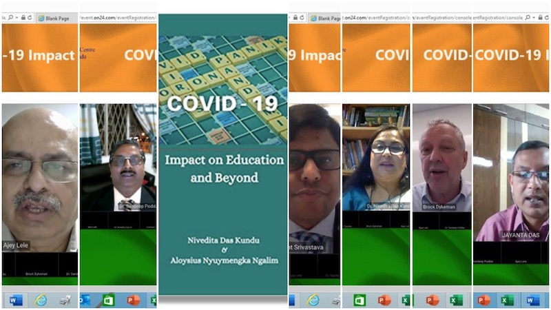 'COVID-19 Impact on Education and Beyond' launched online in Toronto, book offers insight into a key problem