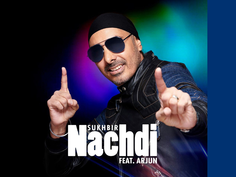 Prince of Bhangra Sukhbir Singh garners a record-breaking viewership with his latest song Nachdi