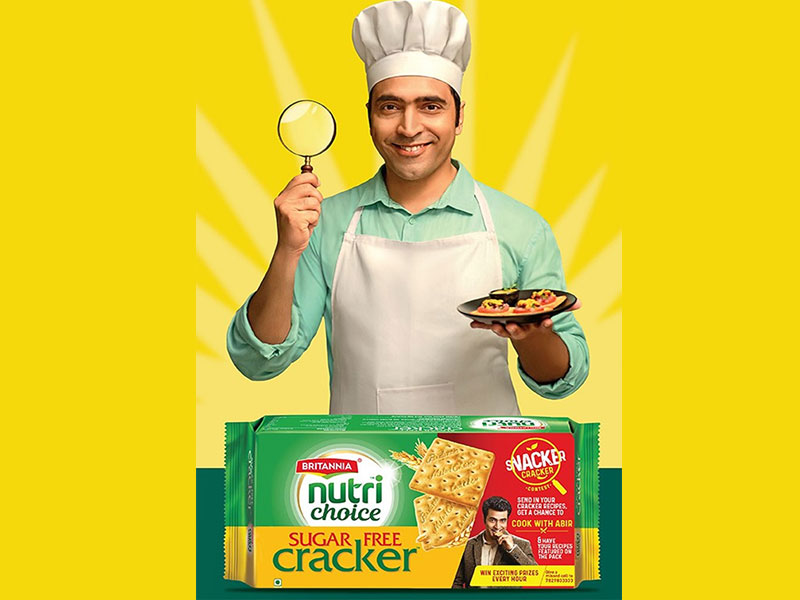 Britannia NutriChoice launches the 'Snacker Cracker' campaign with actor Abir Chatterjee