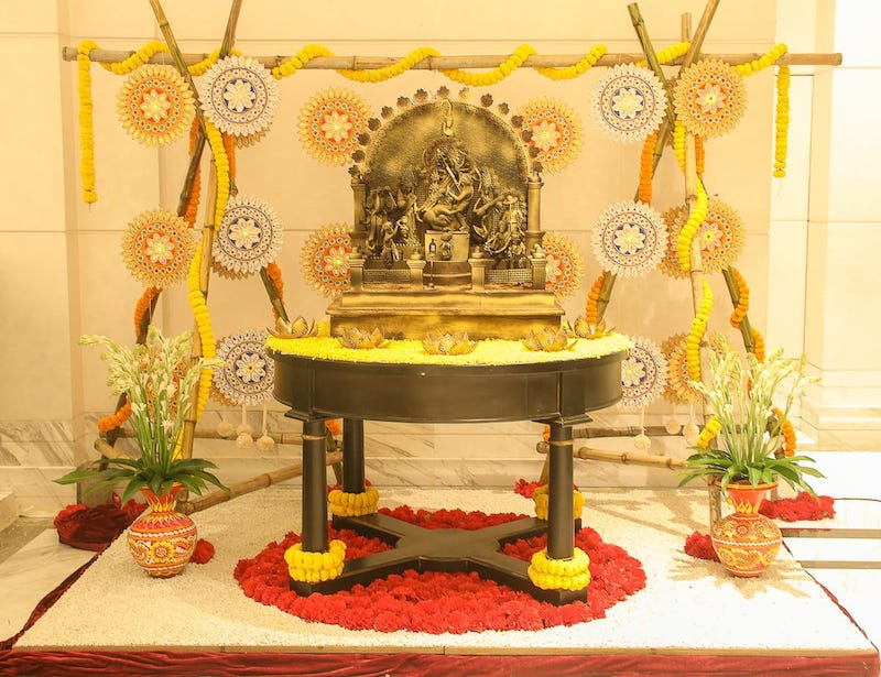 ITC Hotels master chefs in Kolkata hand-craft chocolate Durga