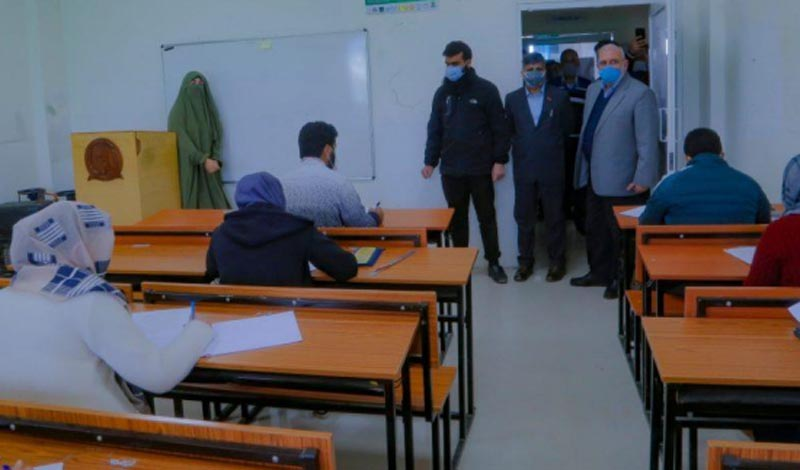 Jammu and Kashmir: CUK VC inspects examination centers