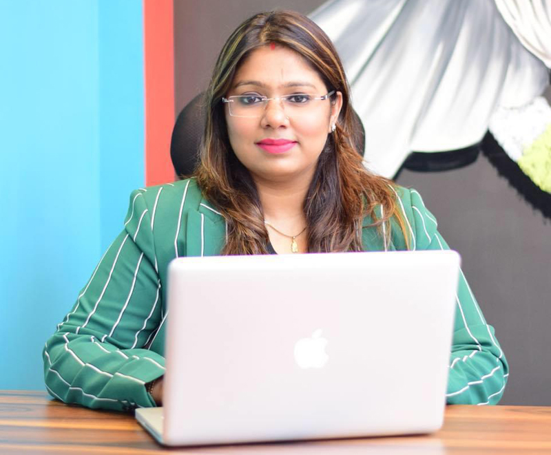 Neha Mittal, the woman behind OneAbove medical devices, wants to remain one up in business while serving mankind