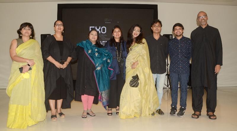 Rituparna Sengupta inaugurates Harshit Agrawal's solo exhibition at Kolkata's Emami Art