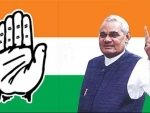 Congress puts Vajpayee's photo on its website