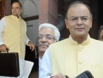 Jaitley presents union budget, IT exemption raised to Rs 2.5 lakh