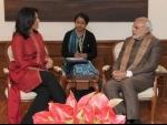 Tulsi Gabbard of U.S. Congress meets PM Modi