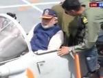 Narendra Modi witnesses Navy's prowess