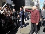 PM Modi arrives in NY (Lead)