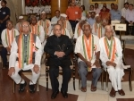 President of India hosts 'At Home' for freedom fighters
