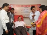 Harsh Vardhan launches Blood Donation Drive