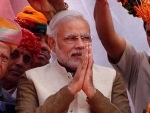 Narendra Modi meets his mother