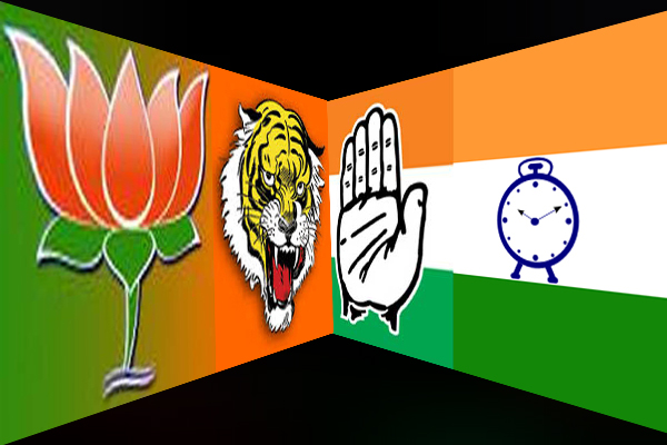Post alliance, BJP-Shiv Sena-Congress-NCP on war-footing