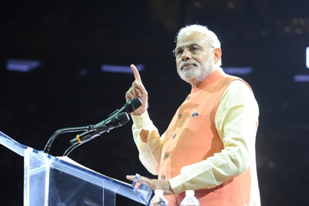 I am going to make an India of your dreams: Modi
