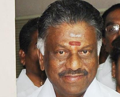 O Panneerselvam chosen as Tamil Nadu Chief Minister