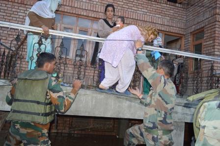 Kashmir flood fury: Human lives saved, animals lost