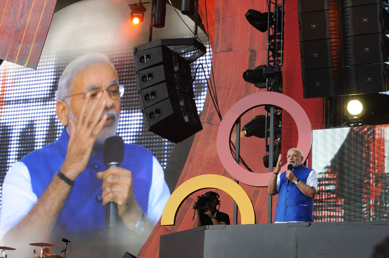 Madison Square Garden: Modi urges to make development a mass movement