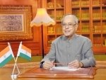 President Mukherjee's message on the eve of National Day of Romania