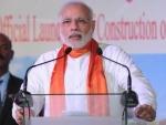 Modi pays homage to Bhagat Singh, Sukhdev, Rajguru